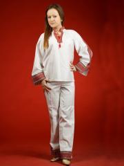 Вышитый женский костюм ЖК 24