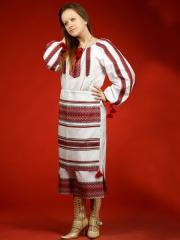 Вышитый женский костюм ЖК 25