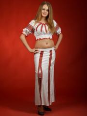 Вышитый женский костюм ЖК 28