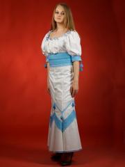 Вышитый женский костюм ЖК 31