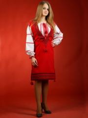 Вышитый женский костюм ЖК 35