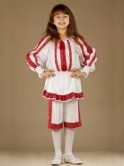 Вышитый женский костюм ЖК 44-13