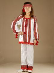 Вышитый женский костюм ЖК 49-2