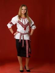 Вышитый женский костюм ЖК 8