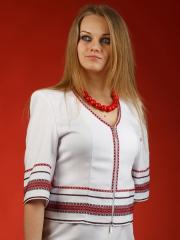 Вышитый женский пиджак ПЖ 1-19