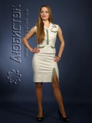 Вышитый модный женский костюм ЖК 62-31