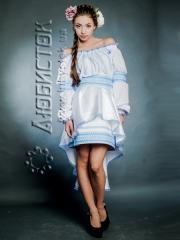Вышитый модный женский костюм ЖК 66-55