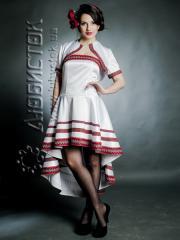 Вышитый модный женский костюм ЖК 67-44