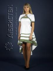 Вышитый модный женский костюм ЖК 67-46