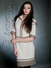 Вышитый модный женский костюм ЖК 68-62