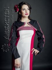Вышитый модный женский костюм ЖК 69-49