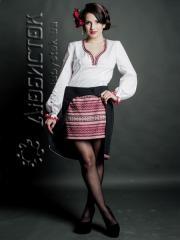 Вышитый модный женский костюм ЖК 70-1