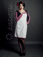 Вышитый модный женский костюм ЖК 71-49