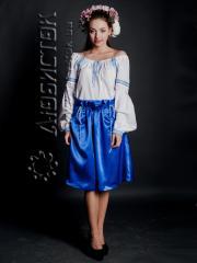 Вышитый модный женский костюм ЖК 72-36