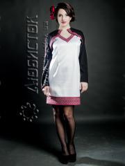 Вышитый модный женский костюм ЖК 73-19