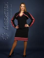 Вышитый модный женский костюм ЖК 73-27