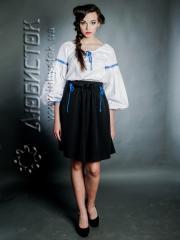 Вышитый модный женский костюм ЖК 74-58