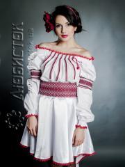 Вышитый модный женский костюм ЖК 75-16