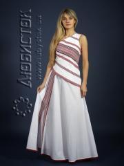 Вышитый модный женский костюм ЖК 79-35