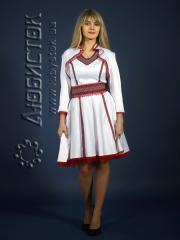Вышитый модный женский костюм ЖК 80-63