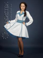 Вышитый модный женский костюм ЖК 84-68