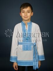 Детская рубашка-вышиванка ЧС 8-81Д