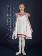 Детское вышитое платье ЖП 12-17