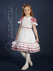 Детское вышитое платье ЖП 14-11-Б6