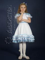 Детское вышитое платье ЖП 14-36-Б6