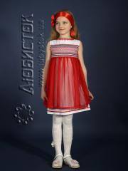 Детское вышитое платье ЖП 16-35