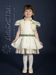Детское вышитое платье ЖП 18-15-Б7