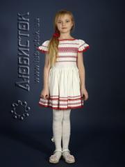 Детское вышитое платье ЖП 19-11