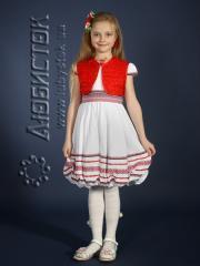 Детское вышитое платье ЖП 33-35-КМ10