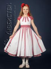 Детское вышитое платье ЖП 35-37