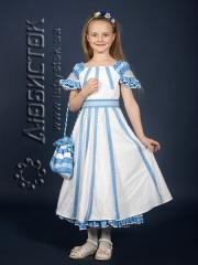 Детское вышитое платье ЖП 39-77