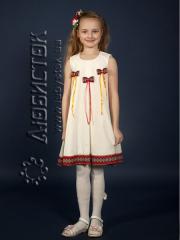 Детское вышитое платье ЖП 41-44