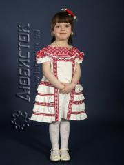 Детское вышитое платье ЖП 44-37