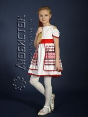 Детское вышитое платье ЖП 45-17