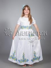Детское вышитое платье ЖПВ 13-1