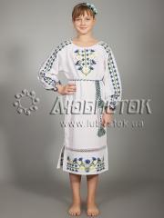Детское вышитое платье ЖПВ 14-1