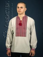 Мужская рубашка-вышиванка ЧС 2-49L