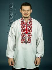 Мужская рубашка-вышиванка ЧСВ 10-1