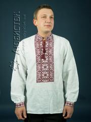 Мужская рубашка-вышиванка ЧСВ 1-2