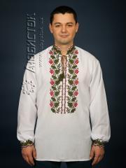 Мужская рубашка-вышиванка ЧСВ 14-1