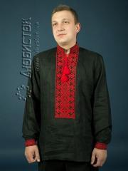 Мужская рубашка-вышиванка ЧСВ 2-1