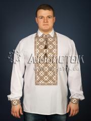 Мужская рубашка-вышиванка ЧСВ 26-3
