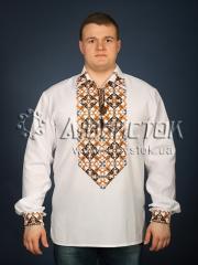 Мужская рубашка-вышиванка ЧСВ 27-1