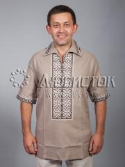 Мужская рубашка-вышиванка ЧСВ 31-6