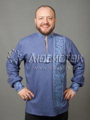 Мужская рубашка-вышиванка ЧСВ 35-1