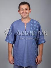 Мужская рубашка-вышиванка ЧСВ 36-2